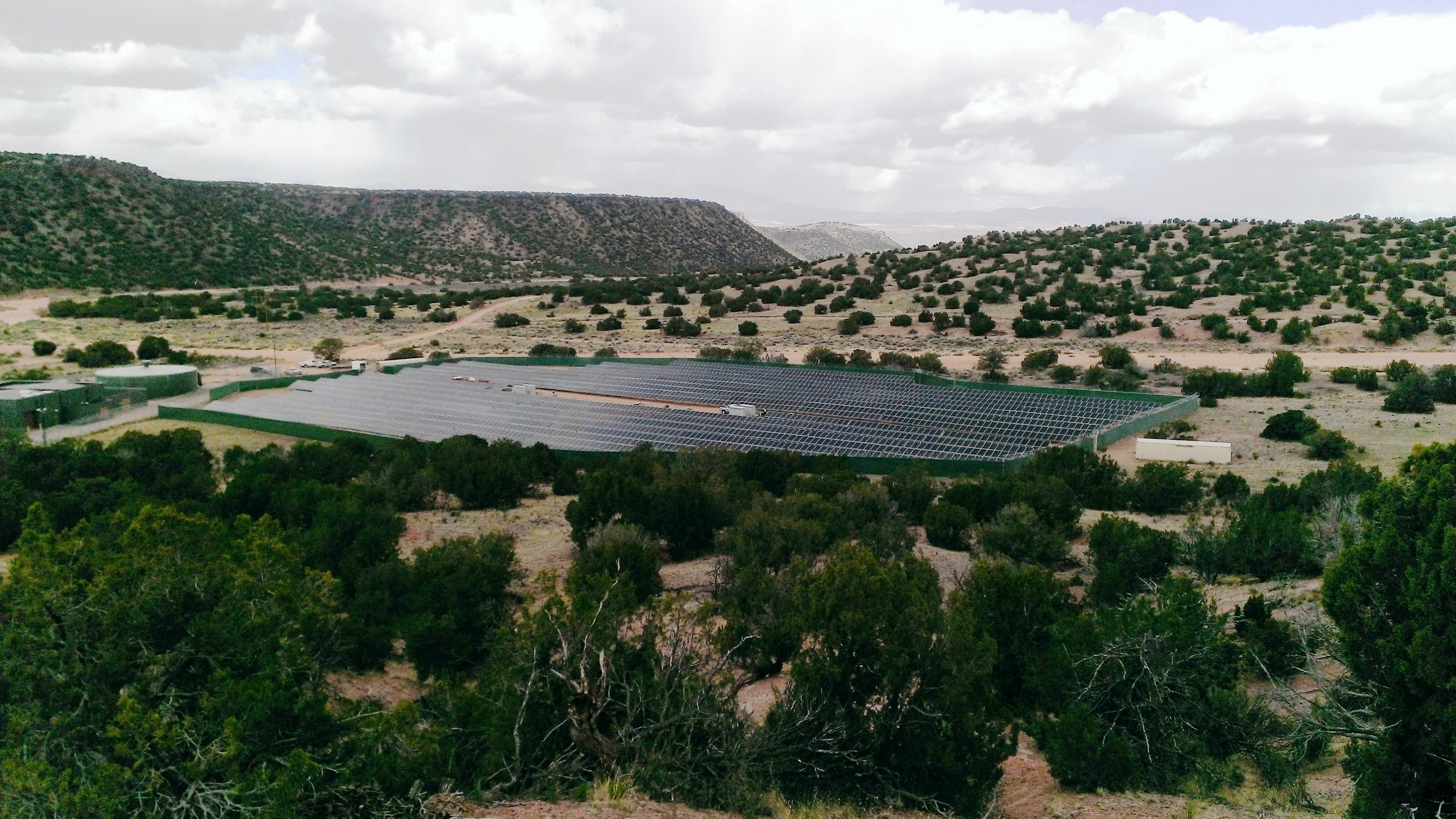 The Buckman Direct Diversion 2A Solar Field
