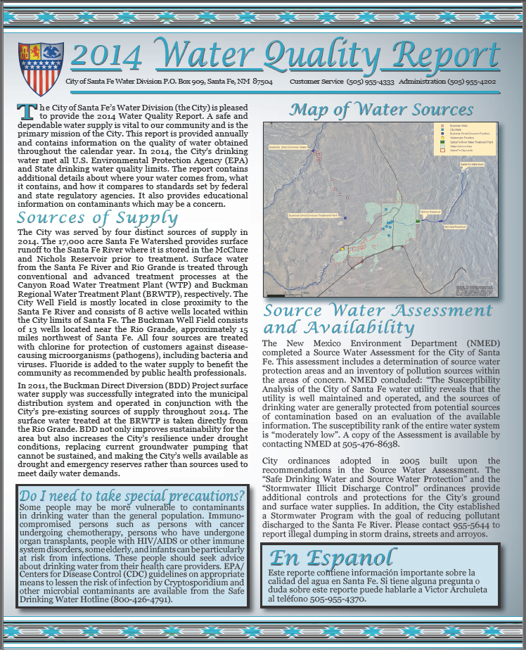 Water Quality Report pg 1 crop