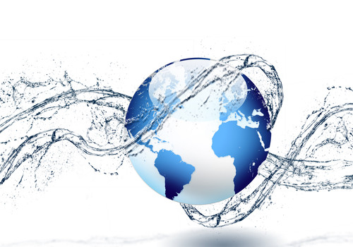 Earth water splash-500x350