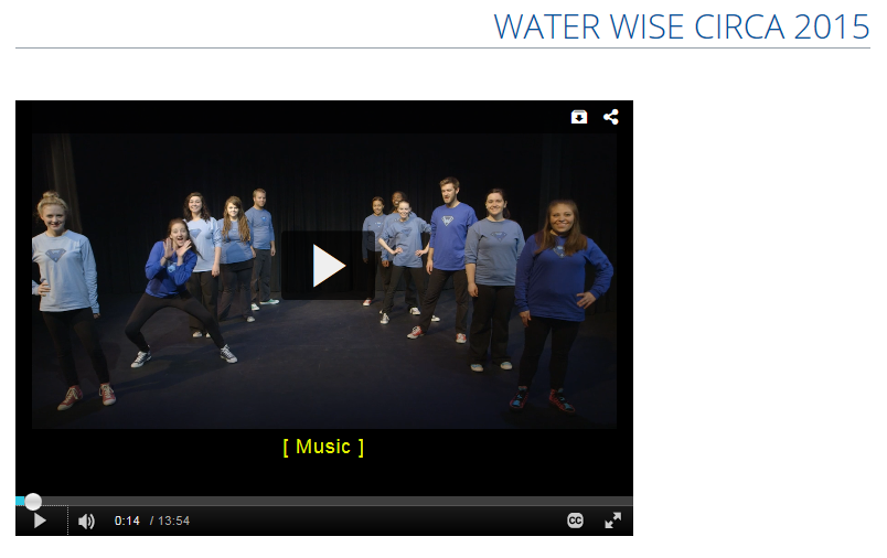 MSU Water Wise Video Snip